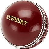 Newbery Incredi - Pelota de Cricket, Color Rojo