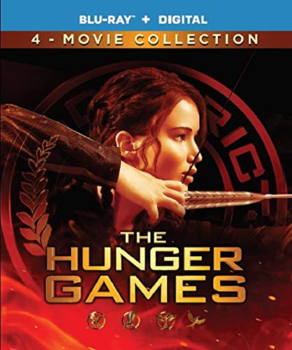 Hunger Games: Complete 4-Film Collection [Blu-ray]