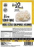 VIVA PLANTA AROS ESTILO CALAMARES VEGANOS 250g | Sin Gluten | Vegan | Sin carne | 100% Vegetal | Plant Based | Sin Gluten