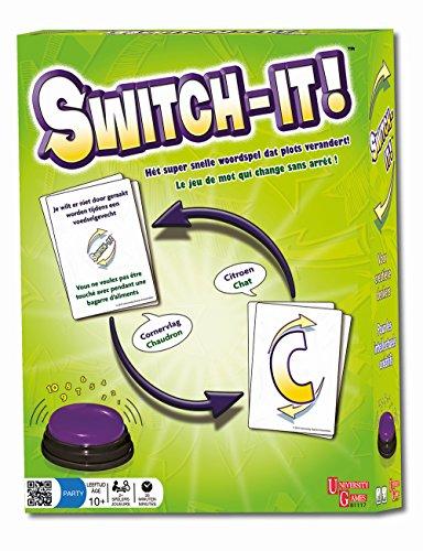 University Games - 81117 - Jeu d'action et de Réflexe - Switch-it - Multicolore
