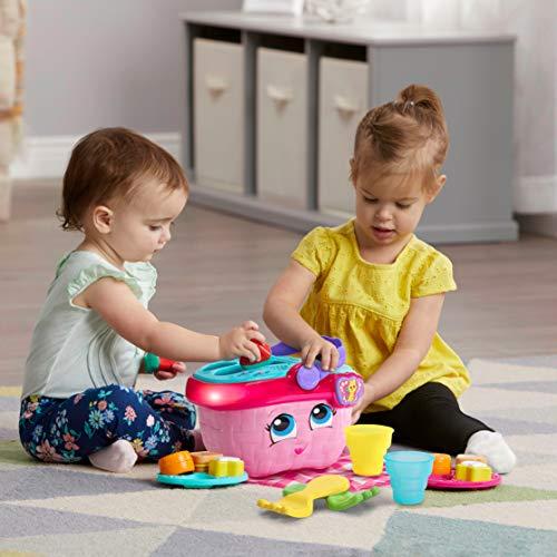 LeapFrog Shapes & Sharing Picnic Basket, Pink
