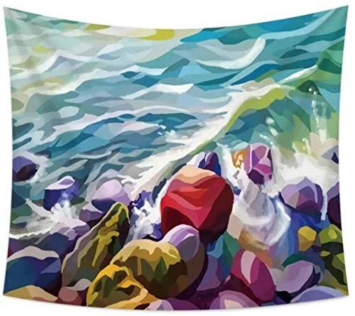 QIAO Tapices Mountain Sun Print Tapices Tapiz de Pared Decoraci¨n de Fondo Funda de sof¨¢ Estera de Yoga Decoraci¨n para el hogar