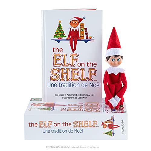 The Elf on the Shelf®: Une Tradition de Noël (Garçon) Livre en Francais Christmas Tradition - Boy Light Skin & Blue Eyes (French)