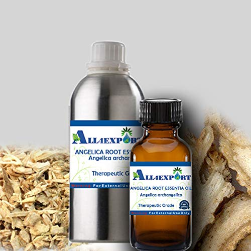 Fantastic Prices! Essential Oil Pure Angelica Root Angelica Archangelicalinne Natural 60 ML