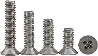 BOZONLI Verzonken Schroeven Bout Machineschroeven Phillips Schroef In Roestvrij Staal, M4*6mm,50 stuks