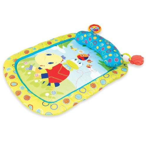 Bright Starts - 9008 - Tapis de Jeu - Tiny Turtle & Friends Prop & Play Mat