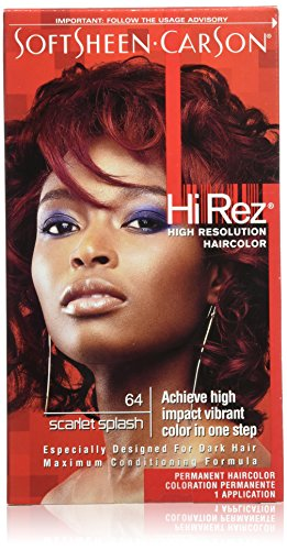 SoftSheen-Carson Hi Rez High Resolution Hair Color, Scarlet Splash 64