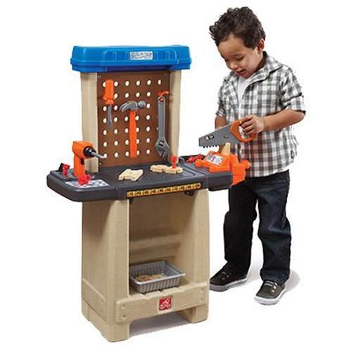 Price comparison product image Step2 Handy Helpers Workbench Building Set