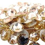 WEILAI Ss2, Ss3, Ss4, Ss5 cristal no Hotfix Rhinestone Super brillante cristal Strass 3D decoración del arte del clavo