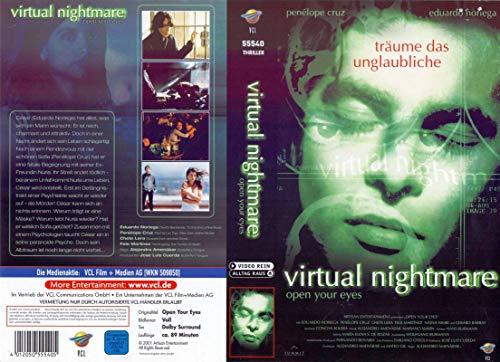 Virtual Nightmare - Penelope Cruz - VHS-Einleger A4 - ohne Cassette/Hülle