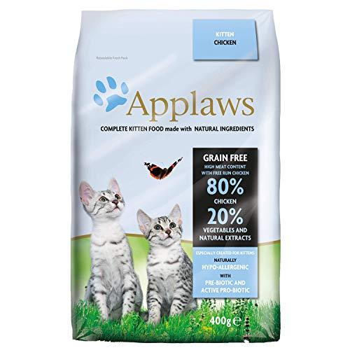 Applaws Trockenes Katzenfutter 400g Huhn für Kätzchen