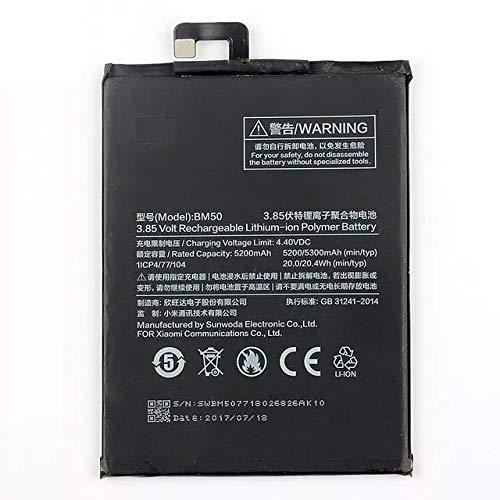 Bateria Para Celular Mi Max 2 Bm50 5300Mah