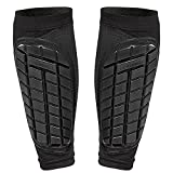 Bodyprox Soccer Shin Guards Sleeves for Men, Women and Youth (Medium)