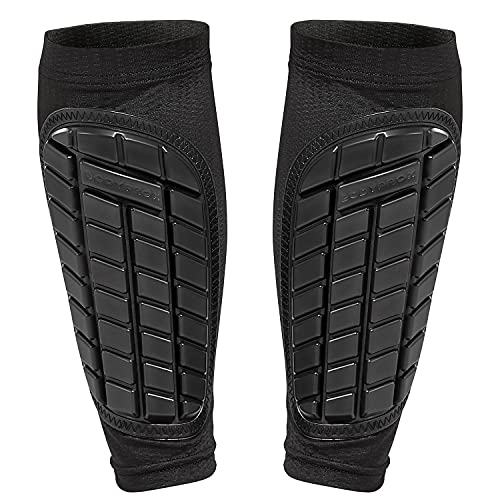 Bodyprox Soccer Shin Guards Sleeves for Men, Women and Youth (X-Large)