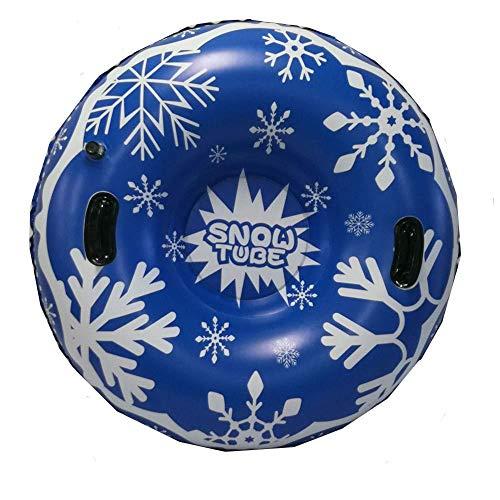Goodtimera - Tubo de nieve hinchable, protección del medio ambiente, material resistente al frío, nieve, círculo de anillo de esquí hinchable para invierno
