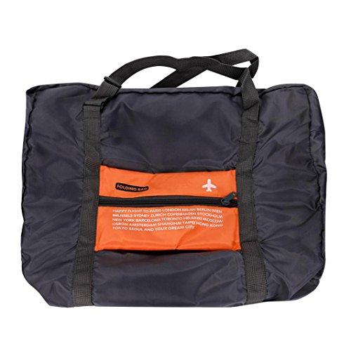 Travel Storage Bag,IEason Clearance Sale! Big Foldable Travel Storage Luggage Carry on Organizer Hand Shoulder Duffle Bag (Orange)