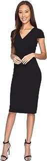Donna Morgan Women's Cap Sleeve Stretch Crepe Sheath Dress
