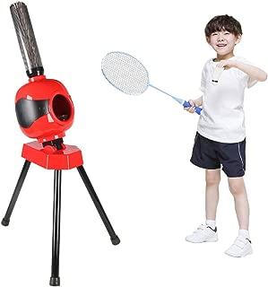 T-king Badminton Automatic Serve Machine -Children's Badminton Trainer Portable Badminton Training Machine