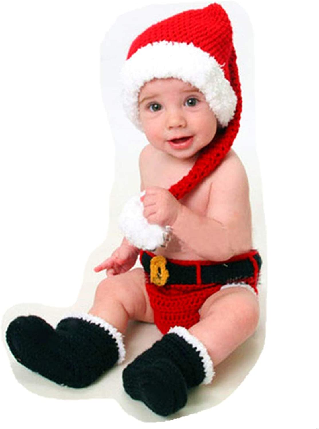 Newborn Baby Photography Suit, Christmas Set, Baby Photo Prop/Outfits