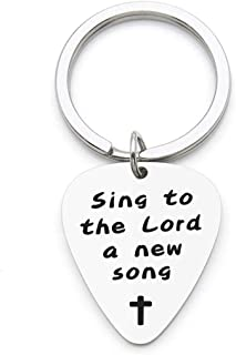christian guitar pick necklace