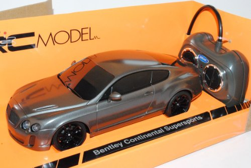 günstig Welly Bentley Continental GT SupeR Sport Grey Coupé 2003 Modell 1/24 RC Car… Vergleich im Deutschland