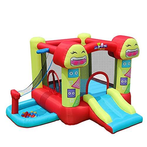 ZUIZUI Castillos hinchables Juegos de los niños Castillo Inflable Inflaje de los niños Diapositivas Infantiles Interior y al Aire Libre Juguetes