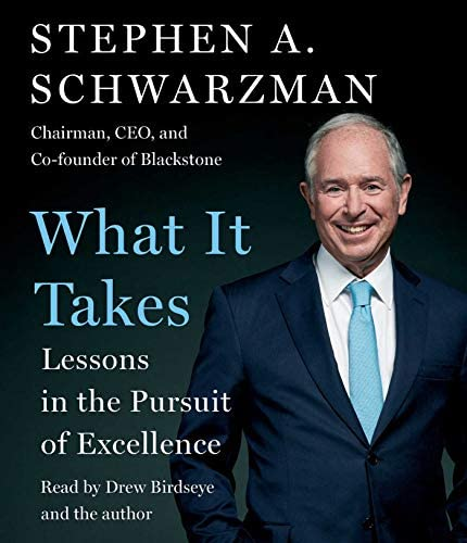 What It Takes Lessons in the Pursuit of Excellence product image
