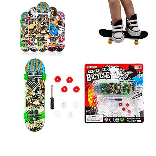 Kungfu Mall 1pc Finger Skateboard für Kindergeburtstagsfeiergeschenk (zufällig)
