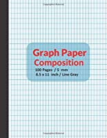 graph paper composition notebook: Math and science composition notebook for adults, children, and everyone.