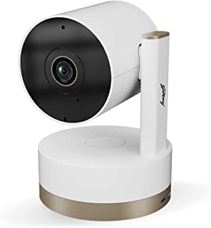 Godrej Spotlight Pan Tilt Smart WiFi Security Camera for Home with 360 Degree 2MP 1080p (Full HD) | 2-Way Audio | Night Vi...