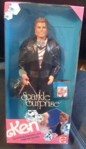 Ken Sparkle Surprise - Wearing Tux with Rose for Barbie 1991