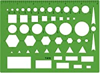 Westcott テクニカル万能図面テンプレート 144枚ケース (500-T-816)