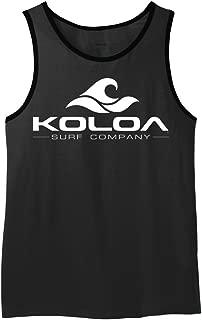 Koloa Surf Co. Wave Logo Ringer Tank Tops in Sizes XS-4XL
