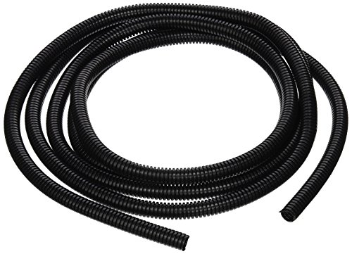 Taylor Cable 38180 Black Convoluted Tubing