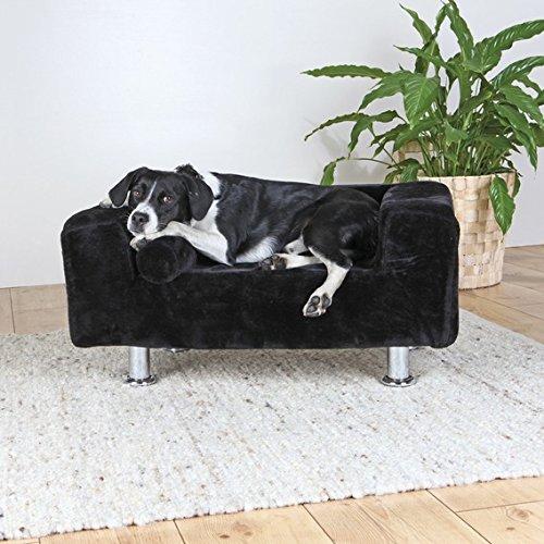 Just llegado, Nueva Ultra Elegante y Moderno TRIXIE King Of Dogs sofá: El lugar especial extra para su perro con añadido Garbo