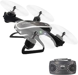 3T6B Drones para Niños, Principiantes Cuadricóptero RC Plegable, con luz Intermitente, Regreso con un Solo Botón, Flip 3D, 15 Minutos de Tiempo de Vuelo, Posicionamiento de Flujo óptico