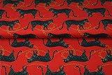 Stenzo – Jersey Stoff für Kinder mit Leoparden und