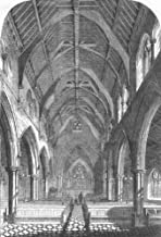 Bedfordshire. New Church of St. Matthew, Bedford New Town - 1856 - Old Print - Antique Print - Vintage Print - Printed Prints of Beds