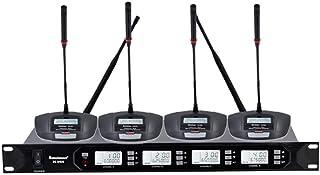 Micrófono De Condensador Inalámbrico One Drag Four Wireless Conference Cuello De Ganso Micrófono De Rendimiento De Escenar...