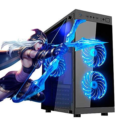 PC Gamer AMD Ryzen 5 2600, 8GB RAM DDR4, HD SSD 480GB, GTX 1650 4GB, Fonte Real 500w