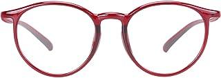 Duco Lunettes anti lumière bleue, lunettes de lecture, lunettes d'ordinateur pour gamers, 100% anti UV 305