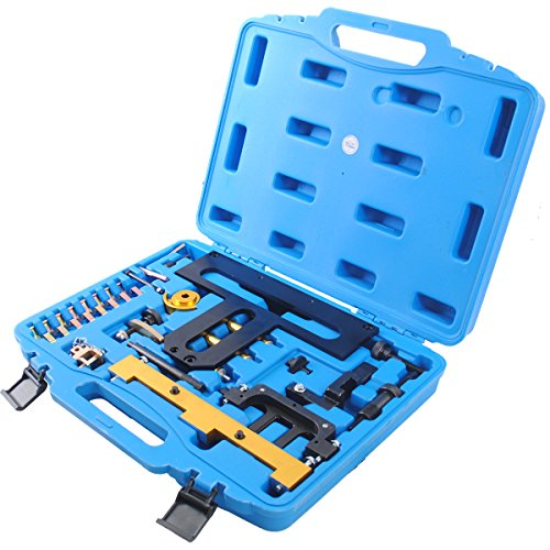 CCLIFE Motor Steuerkette Arretierwerkzeug Einstellwerkzeug Nockenwellen Kurbelwellen N42 N46 N46T 1.8 2.0