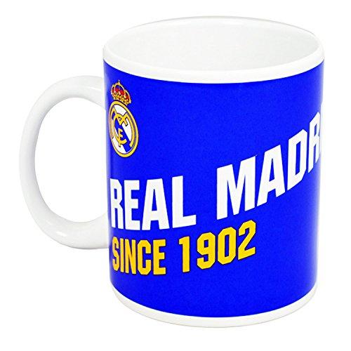Real Madrid Kaffeetasse blue Porzellanbecher Tasse Fanartikel
