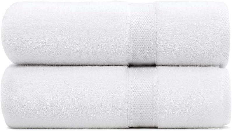 Standard Textile Hotel Luxury Lynova 100% Cotton Bath Towels, Set of 2