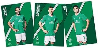 SV Werder Bremen Autogrammkarten 2019/2020  ohne Unterschriften