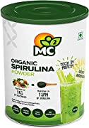 """GRAB YOUR """"HEALTHY GREENS"""" - Our MC² Organic Spirulina is a 100 gms package in an airtight easy to open paper container. Consumption is 4 gms/day. FEEL """"SUPER ENERGY"""" THROUGHOUT YOUR DAY - The iron in spirulina helps formation of hemoglobin, which en..."""
