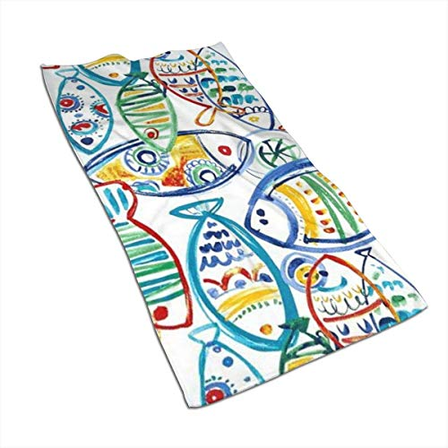 Tyueu Handtuch Gesicht Handtücher Solarium Outdoor Cast Seaside Face Towel,Hand Towel,Kitchen Towels-Dish 3D Design Pattern Towel,Towels for The Kitchen,Cleaning,Cooking,Baking,Dishwashing Towel 15.7