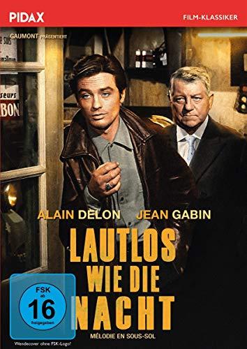 Lautlos wie die Nacht (Melodie en Sous Sol) / Preisgekrönter Kriminalfilm mit Starbesetzung (Pidax Film-Klassiker)
