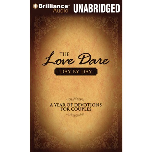 The Love Dare Day by Day audiobook cover art