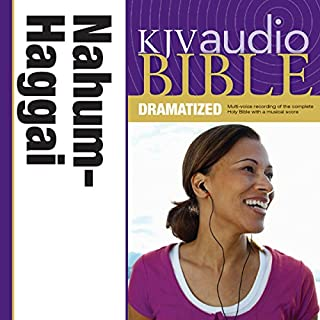 Dramatized Audio Bible - King James Version, KJV: (27) Nahum, Habakkuk, Zephaniah, and Haggai audiobook cover art